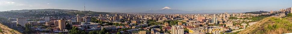 Panorama of Yerevan