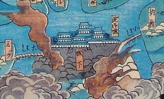 Japanese historical estate in Yamashiro province
