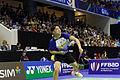 Yonex IFB 2013 - Quarterfinal - Koo Kien Keat-Tan Boon Heong vs Chris Adcock-Andrew Ellis 02.jpg