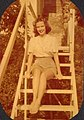 YoungWomanWoodenSteps1948Color.jpg