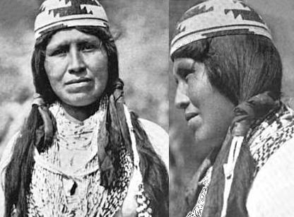 Yurok American Indian woman named Alice Frank By Aleš Hrdlička