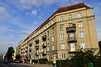 Zabytek 1350-A z 16.05.1988 kamienica, w zespole kamienic Reduta Wawelska 1922 ul.Wawelska 60 Warszawa.jpg