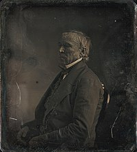 Zachary Taylor at the White House daguerreotype by Mathew Brady 1849