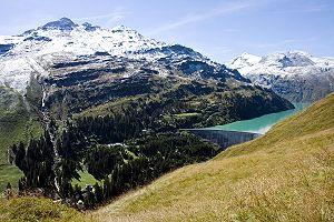 Lepontine Alps - Zervreilasee
