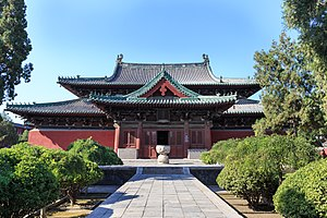 Longxing Temple (Zhengding) - The Manichean Hall of the Longxing Temple