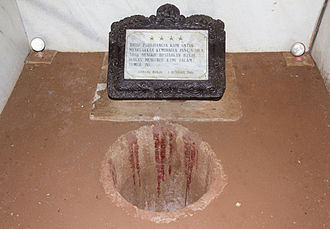Pengkhianatan G30S/PKI - The well down which the generals' bodies were dumped, 2013