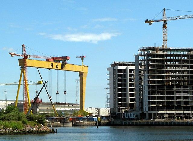 'Titanic Quarter' development, Abercorn Basin, Belfast - geograph.org.uk - 1378153