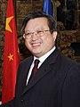 (Zhu Bangzao) Cospedal con el embajador de China en España (cropped).jpg
