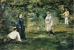 Édouard Manet: La Partie de croquet