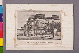 État de Bahia - S. Salvador; Le Sénat