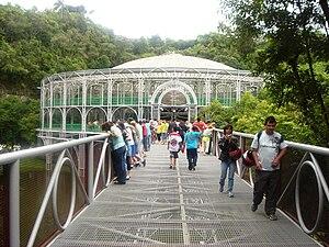 Landmarks in Curitiba - Ópera de Arame.