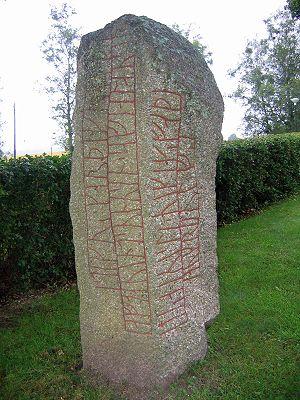 Runestone - The Kälvesten Runestone, Sweden