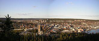 Örnsköldsvik - Örnsköldsvik in 2005