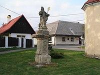 Židněves, socha sv. Vojtěcha.JPG