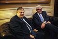 Συνάντηση Αντιπροέδρου της Κυβέρνησης και ΥΠΕΞ Ευ. Βενιζέλου με ΥΠΕΞ Γερμανίας F.W. Steinmeier (11859356176).jpg