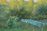 Бабушкин-огород.Холст,масло