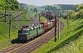 ВЛ80Т-1387, Украина, Киевская область, перегон Сорочий Брод - Фастов-I (Trainpix 136690).jpg
