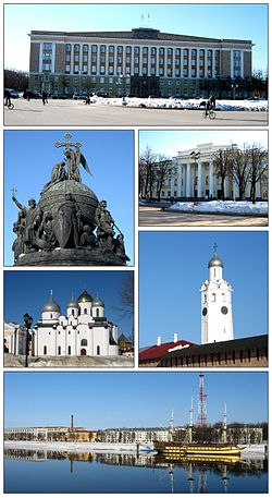 Views of Veliky Novgorod