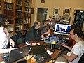 Вікі мітап у Лондане, 10 сакавіка, 2016.jpg