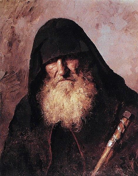 File:В. Д. Поленов. Палестинский монах. 1886.jpg
