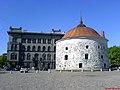 Круглая башня летом, Рыночная площадь, г. Выборг.jpg