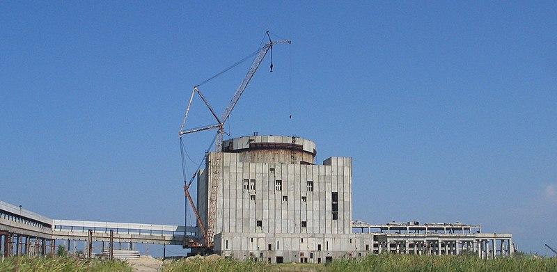 Заброшенные места СССР Крымская АЭС