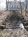 Лестница. ведущая к дворцу Собственной дачи Александра Второго.jpg