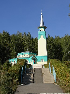 Uchaly Mosque - The Mosque located on Tashbiek mountain, Uchaly