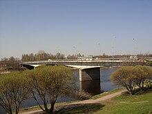 Мост 50-летия Октября. 27 апреля 2011.JPG