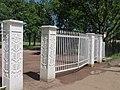 Ограда с воротами парка Александрия, Петергоф.JPG