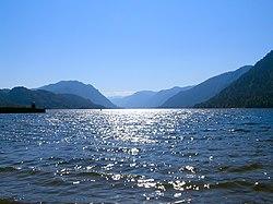 Северная оконечность Телецкого озера, вид со стороны п.Артыбаш.jpg