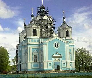 Town in Smolensk Oblast, Russia