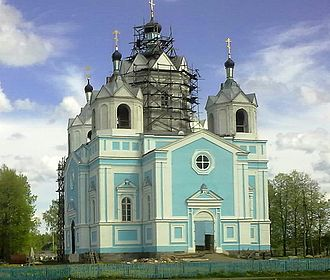 Demidov, Smolensk Oblast - The Dormition Cathedral, Demidov