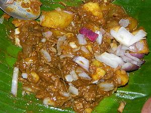 Palai - Image: കപ്പ ബിരിയാണി