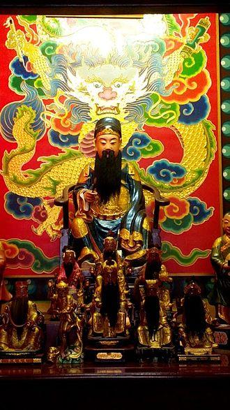 Wenchang Wang - Wenchang statue in Taoyuan City, Taiwan