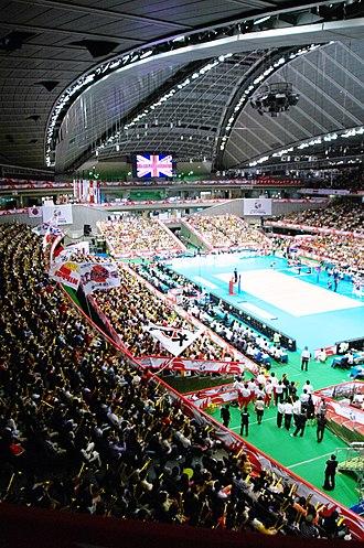 Tokyo Metropolitan Gymnasium - Image: 東京体育館 panoramio