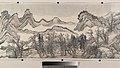 清 王翬 倣巨然燕文貴山水圖 卷-Landscape in the Style of Juran and Yan Wengui MET DP204420.jpg