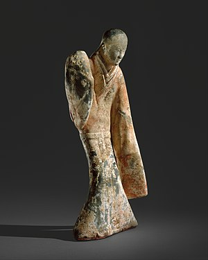 Han dynasty tomb architecture - Female Dancer, Western Han tomb.