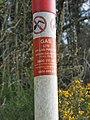 -2019-04-12 Gas pipeline marker, Cranwich, Norfolk.jpg