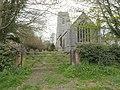 -2021-04-27 Bell tower, Parish church of Saint Giles, Bradfield, Norfolk.jpg