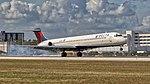 02092018 Delta Airlines MD88 N991DL KMIA NASEDIT (44284987931).jpg