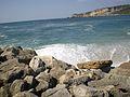 035 Nazaré -O Mar e as rochas.jpg