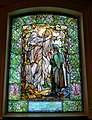 03 The Annunciation, Little Memorial Window, 1900, Tiffany Glass and Decorating Company - Arlington Street Church - Boston, Massachusetts - DSC06961.jpg