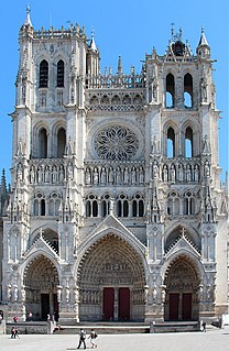 Amiens Cathedral Church in Amiens, France