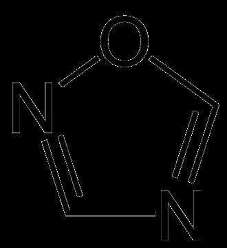Azole - Image: 1,2,4 oxadiazole