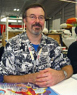 Jerry Ordway American comic book writer & artist