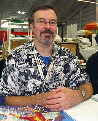 Jerry Ordway - Ordway at the 2012 New York Comic Con