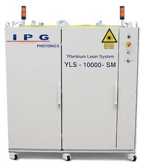 Fiber laser - 10,000W SM Laser