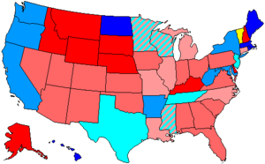 United States House of Representatives elections, 2002 - Image: 108 us house membership