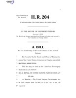 116th United States Congress H. R. 0000204 (1st session) - American Sovereignty Restoration Act of 2019.pdf